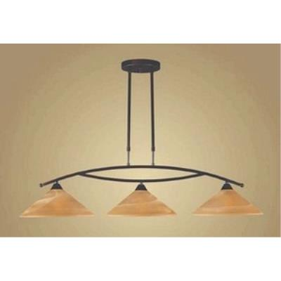 Elk Lighting 6552/3 Elysburg - Three Light Island