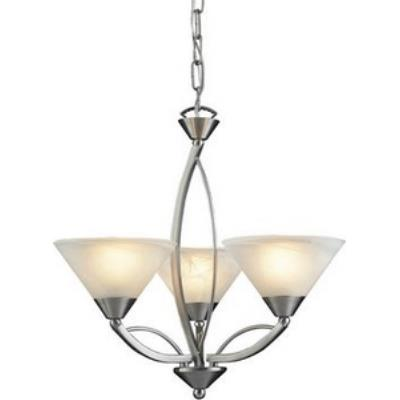 Elk Lighting 7635/3 Elysburg - Three Light Chandelier