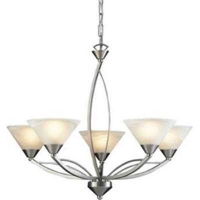 Elk Lighting 7637/5 Elysburg - Five Light Chandelier