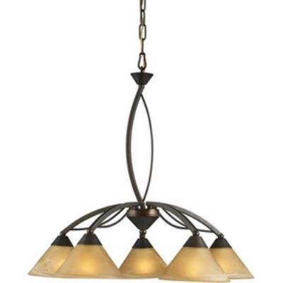 Elk Lighting 7646/5 Elysburg - Five Light Chandelier