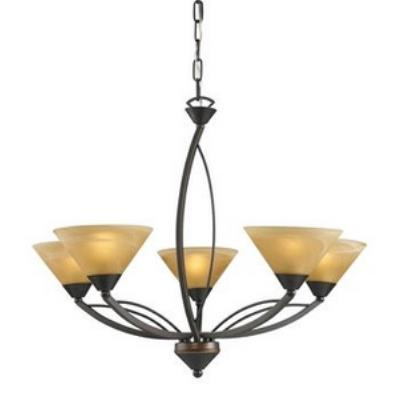 Elk Lighting 7647/5 Elysburg - Five Light Chandelier