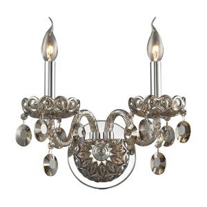 Balmoral - Two Light Crystal Wall Sconce