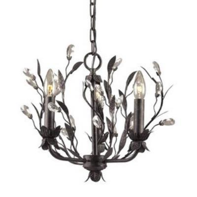 Elk Lighting 8058/3 Circeo Chandelier
