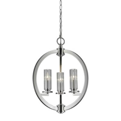 Elk Lighting 83000/3 Lindisfarne - Three Light Crystal Pendant