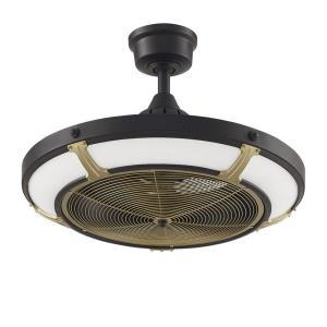 "Pickett Drum - 24"" Ceiling Fan With Light Kit"