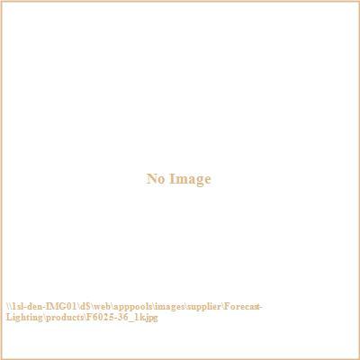 Forecast Lighting F6025 Radius - One Light Flush Mount