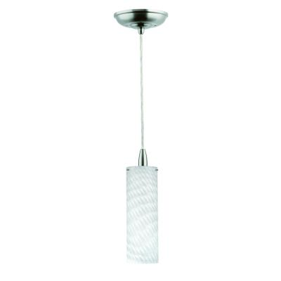 Forecast Lighting FC0038836 Marta 1-light pendant in Satin Nickel finish