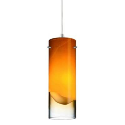 Forecast Lighting FQ0001062 Crete amber glass shade