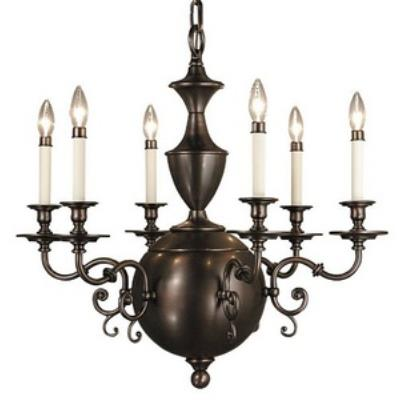 Framburg Lighting 1886 Windsor - Six Light Chandelier