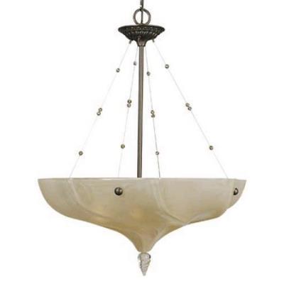Framburg Lighting 3475 Giselle - Four Light Bowl Pendant