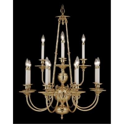 Framburg Lighting 7272 Kensington - Twelve Light Chandelier