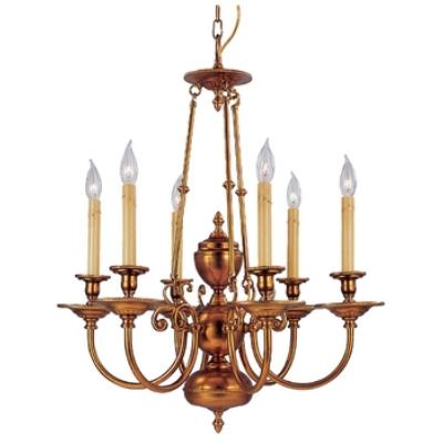 Framburg Lighting 7306 Kensington - Six Light Chandelier