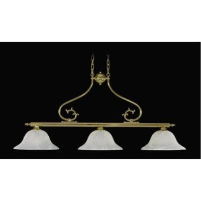 Framburg Lighting 8003 Fin De Siecle - Three Light Island Chandelier