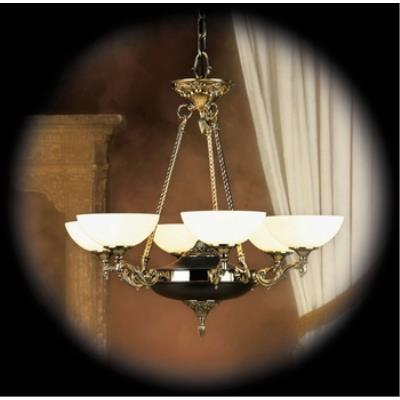 Framburg Lighting 8406 Napoleonic - Six Light Chandelier