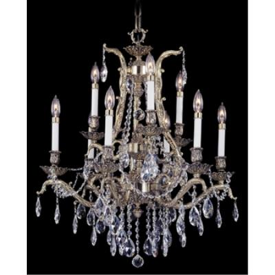 Framburg Lighting 8429 Vienna - Nine Light Chandelier
