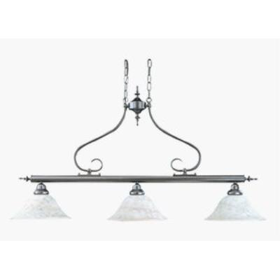 Framburg Lighting 9163 Black Forest - Three Light Island