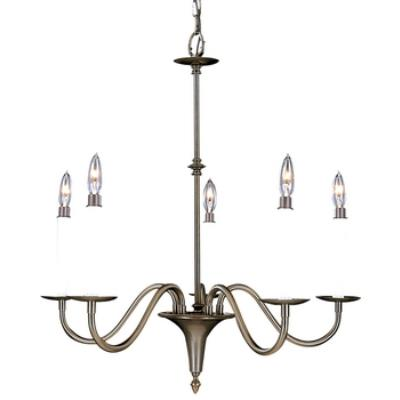 Framburg Lighting 9225 Early American - Five Light Chandelier