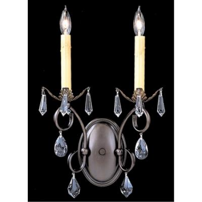 Framburg Lighting 9902 Liebestraum - Two Light Wall Sconce
