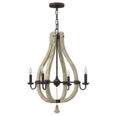 Fredrick Ramond Lighting FR40574IRR Middlefield - Four Light Chandelier