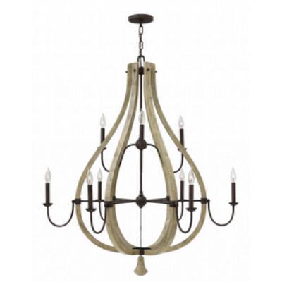 Fredrick Ramond Lighting FR40578IRR Middlefield - Nine Light Chandelier
