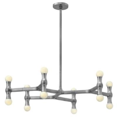 Fredrick Ramond Lighting FR41946PAL Karma - Twelve Light Chandelier