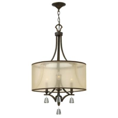 Fredrick Ramond Lighting FR45606FBZ Mime - Three Light Chandelier