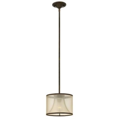 Fredrick Ramond Lighting FR45607FBZ Mime - One Light Mini-Pendant