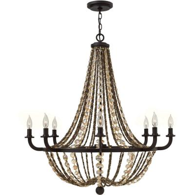 Fredrick Ramond Lighting FR42868VBZ Hamlet - Eight Light Chandelier
