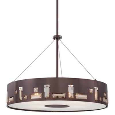 George Kovacs Lighting P1093-631 Bling Bang - Five Light Pendant