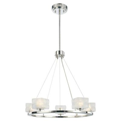 George Kovacs Lighting P1455-613 Squared - Five Light Chandelier