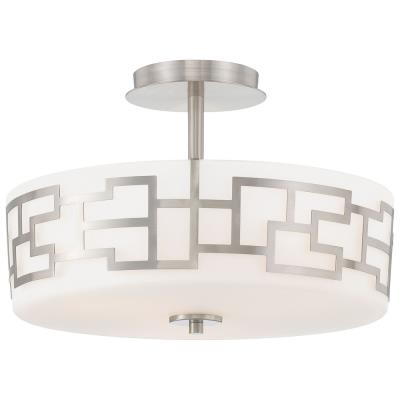 George Kovacs Lighting P198-084 Alecia's Necklace - Three Light Semi-Flush Mount