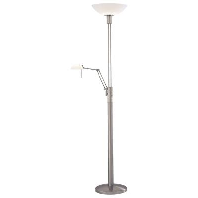 "George Kovacs Lighting P257-084 71-1/2""h Torchiere/Task Lamp"