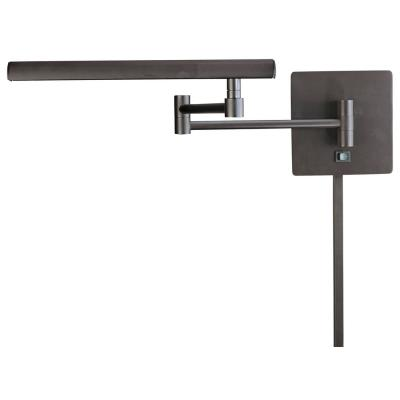 George Kovacs Lighting P266-1-615B Contemporary Swing Arm Wall Light