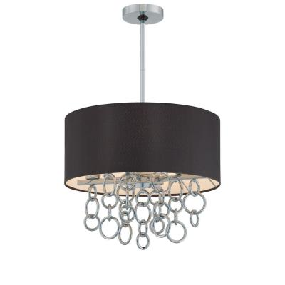 George Kovacs Lighting P400-5-077 Ringlets - Four Light Drum Pendant
