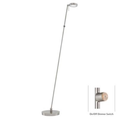 """George Kovacs Lighting P4304-084 George's Reading Room - 49.75"""" 8W 1 LED Floor Lamp"""