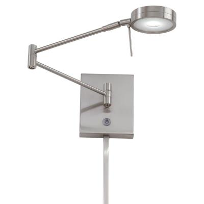 "George Kovacs Lighting P4308-084 13"" LED Swing Arm Wall Lamp"