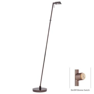 "George Kovacs Lighting P4314-631 George's Reading Room - 50"" 8W 1 LED Floor Lamp"