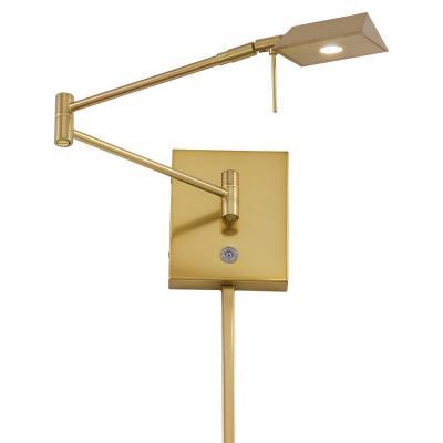 "George Kovacs Lighting P4318-248 13"" LED Swing Arm Wall Lamp"
