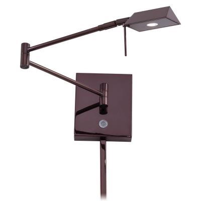 "George Kovacs Lighting P4318-631 13"" LED Swing Arm Wall Lamp"