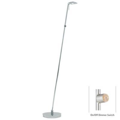 """George Kovacs Lighting P4324-077 George's Reading Room - 50"""" 8W 1 LED Floor Lamp"""