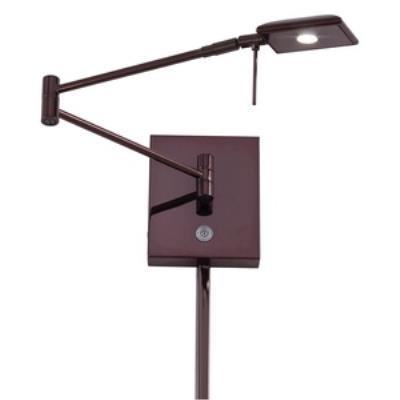 "George Kovacs Lighting P4328-631 13"" LED Swing Arm Wall Lamp"