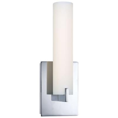 "George Kovacs Lighting P5040-077-L Tube - 13"" LED Wall Sconce"
