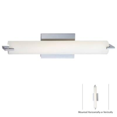 "George Kovacs Lighting P5044-077-L Tube - 20"" LED Wall Sconce"