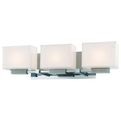 George Kovacs Lighting P5213-077 Three Light Bath Bar