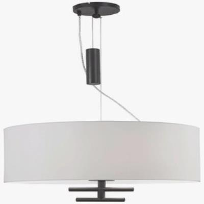 George Kovacs Lighting P543-617 Counter Weights - Three Light Pendant
