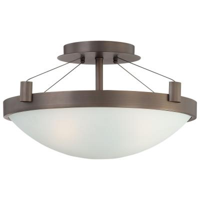 George Kovacs Lighting P591-647 Three Light Semi-Flush Mount