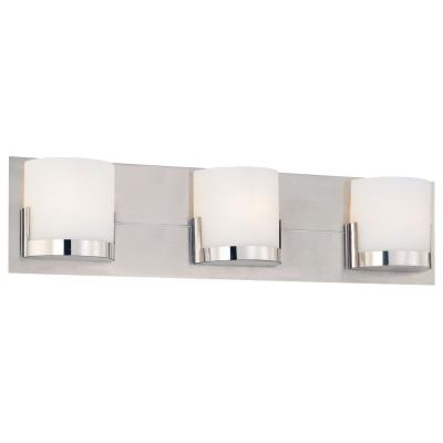 George Kovacs Lighting P5953-077 Convex - Three Light Bath Vanity