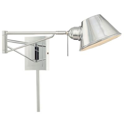 George Kovacs Lighting P611-077 One Light Swing Arm Wall Sconce
