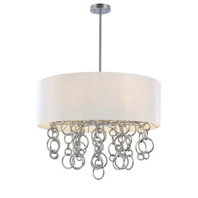George Kovacs Lighting P612-0-077 Ringlets - Six Light Drum Pendant