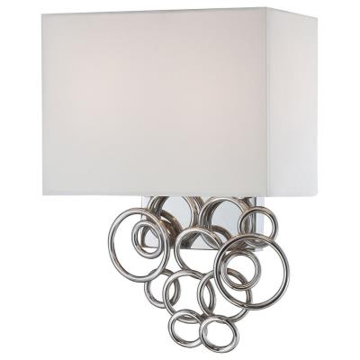 George Kovacs Lighting P612-3W-077 Ringlets - Two Light Wall Sconce